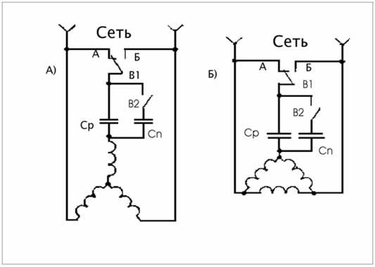 Как сделать реверс на трёхфазном двигателе 983